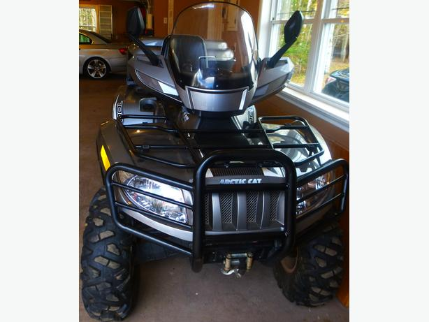 2011 Grey Arctic Cat- 700 TRV Ltd