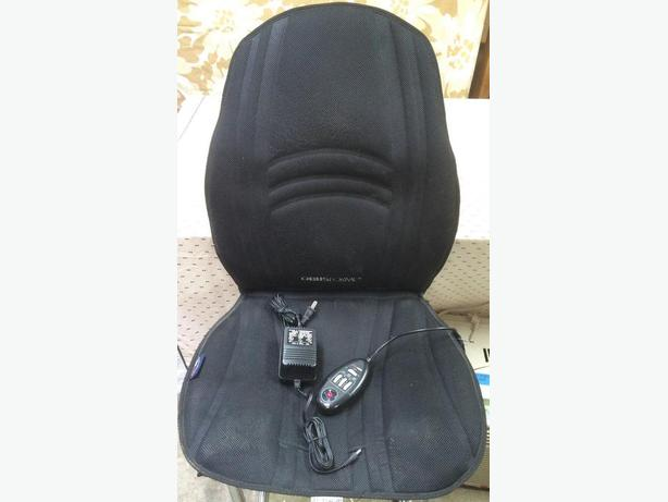 Obus Forme Heated Massaging Chair Pad