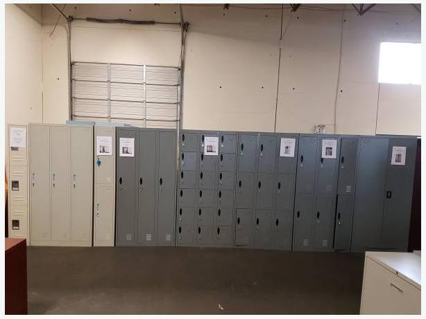 LOCKERS ! STORAGE CABINETS! OFFICE FURNITURE!