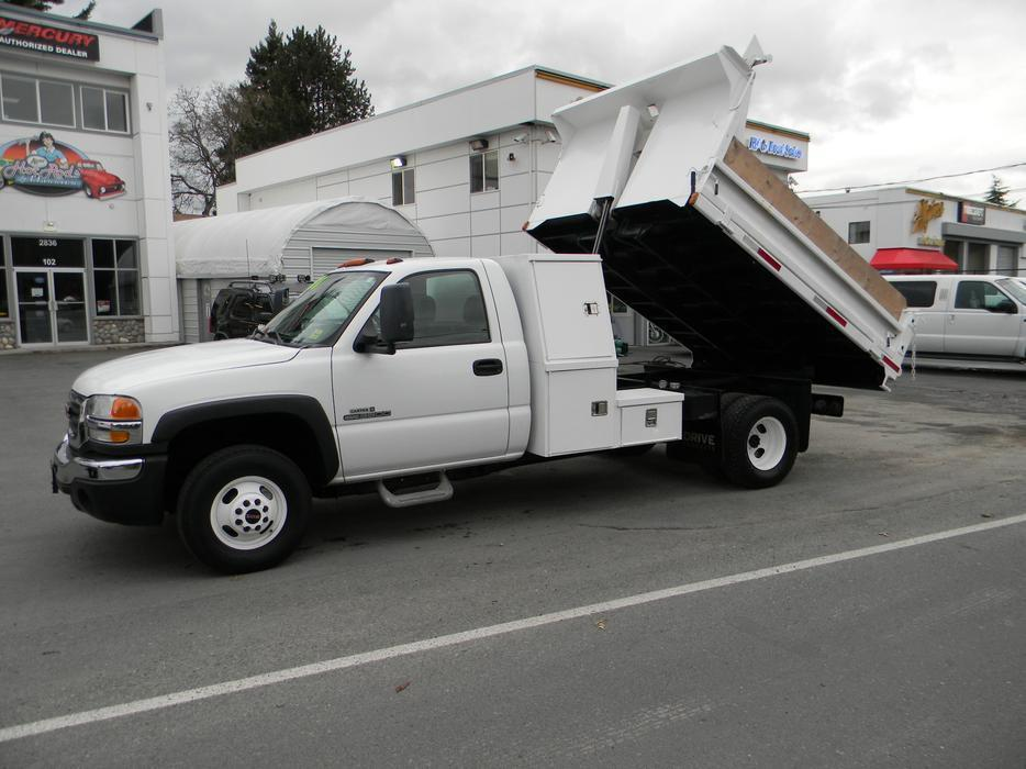 2005 Gmc 3500 1 Ton Dually Dump Truck West Shore Langford