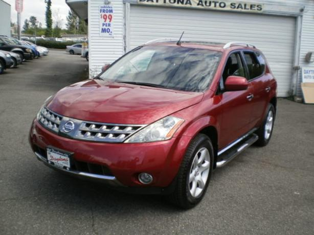 2007 Nissan Murano SE, leather, sunroof,