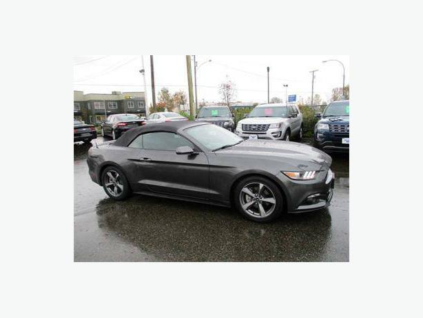2016 Ford Mustang Convertible *Certified Pre-Owned* V6 Auto