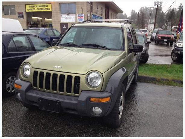 2003 JEEP LIBERTY SPORT MANUAL SUV, 4X4 - $4,400 O.B.O. -  (PORT COQUITLAM)