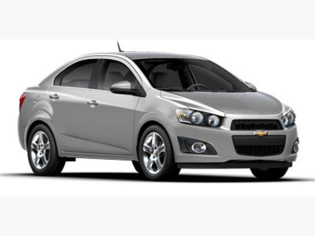 2016 Chevrolet Sonic LT Turbocharged w/ Back-up Camera and 4G WiFi Hotspot