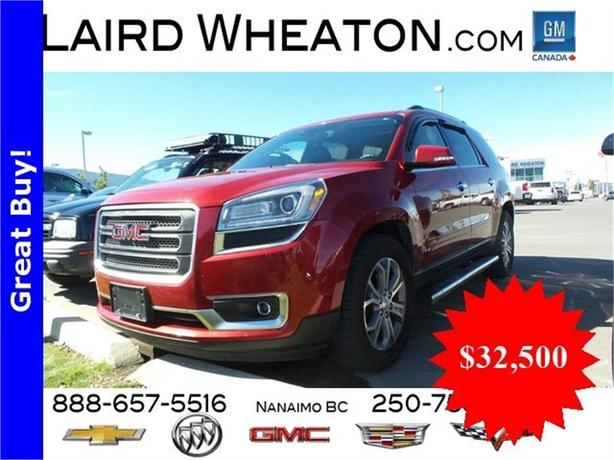 2014 GMC Acadia SLT1 AWD w/ Back-Up Camera and Lane Departure Warning