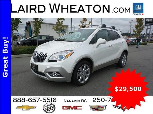 2015 Buick Encore Premium w/ Back-Up Camera and 4G WiFi Hotspot