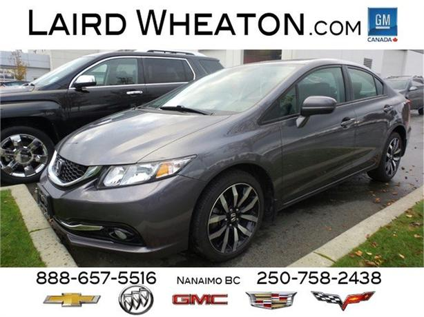 2015 Honda Civic Sedan Touring Edition with leather