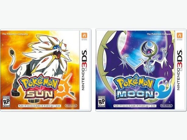 Brand New Sealed Copies of Pokemon Moon & Sun for 3ds