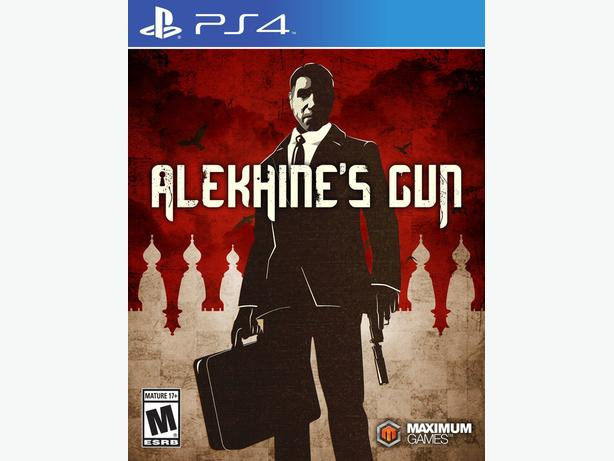 Brand New Sealed Copy of Alekhine's Gun for PS4