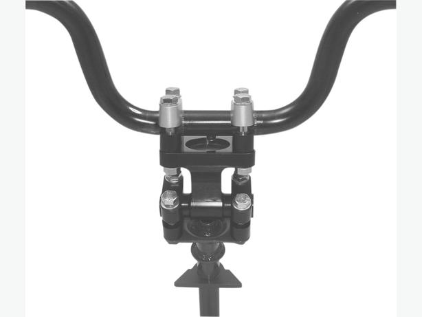 "PowerMadd 3"" Universal Pivot Flat Top Steering Post"
