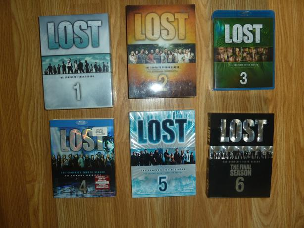 COMPLETE 6 SEASONS OF LOST