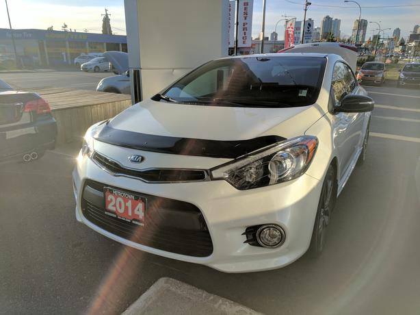 2014 Kia Forte KOUP 1.6L SX - LOCAL & ACCIDENT FREE - 2 Sets of Tires
