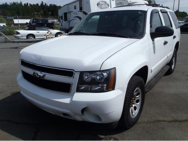 2008 Chevrolet Tahoe 4WD - Police/Special Service