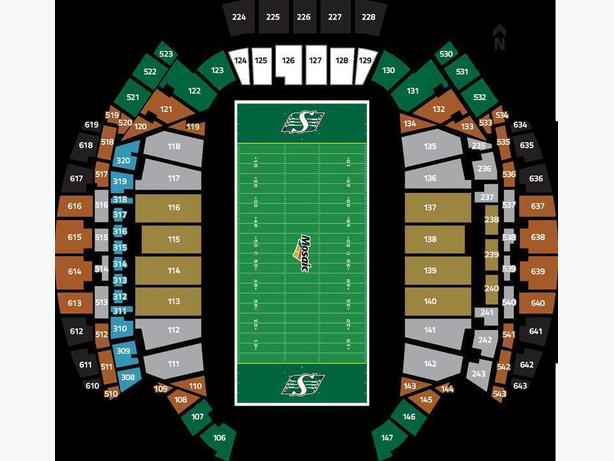 2017 MIDFIELD RIDER SEASON TICKETS - SECTION 515