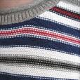 Multi Color Striped Sweater - Size L