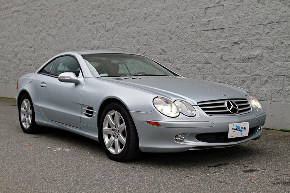 63 000km mercedes benz sl500 outside nanaimo nanaimo for Mercedes benz nanaimo