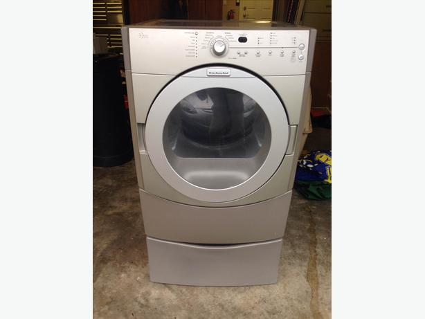 KitchenAid Dryer & Pedestal