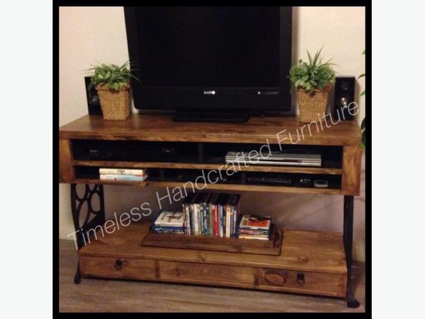 Unique Handcrafted Media console