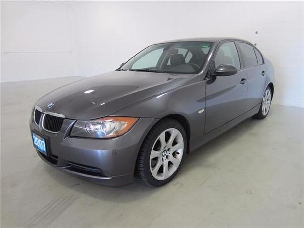 2007 BMW 328i 4DOOR SUNROOF/LEATHER/4 BRAND NEW TIRES