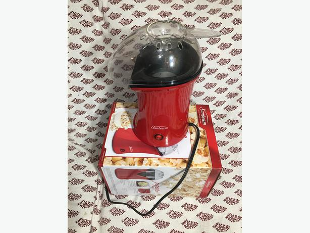 how to use sunbeam popcorn maker