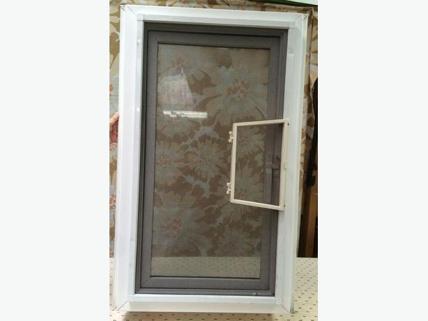 New Old Stock Casement Vinyl Window