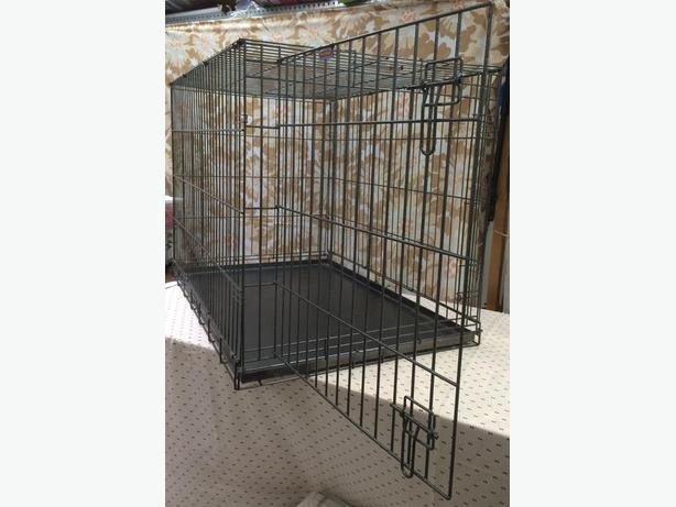 Large Wire Mesh Dog Crate