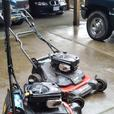 Toro mower double blade.