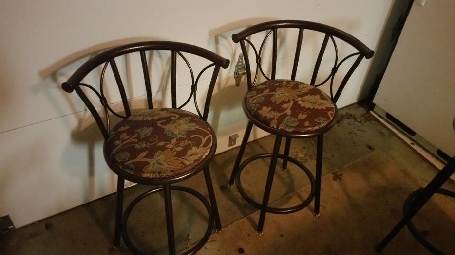 Set Of Two Bar Stools Saanich Victoria