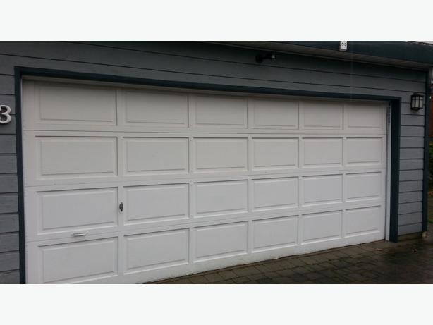 16 ft garage door and opener west shore langford colwood
