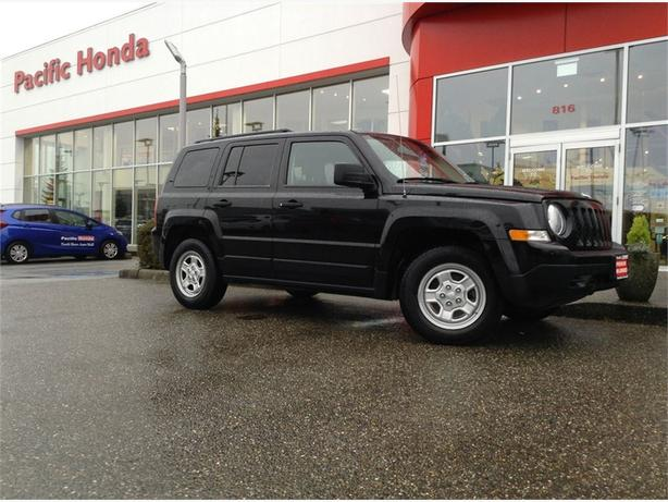 2012 Jeep Patriot SPORT - LOCAL SUV WITH ZERO (0) ICBC CLAIMS