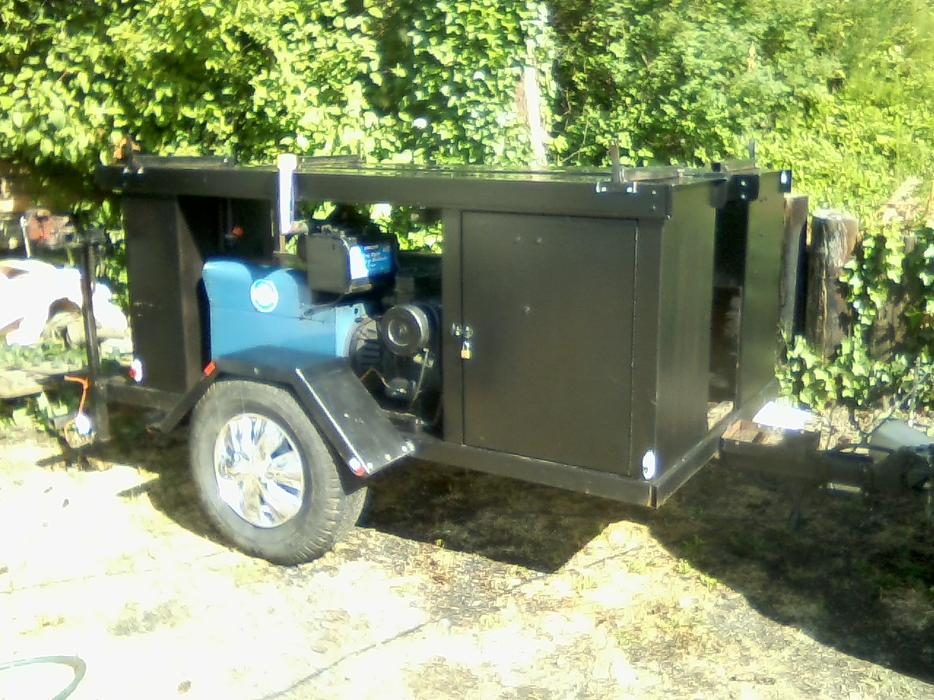 Custom Built Welding Trailer North Saanich Amp Sidney