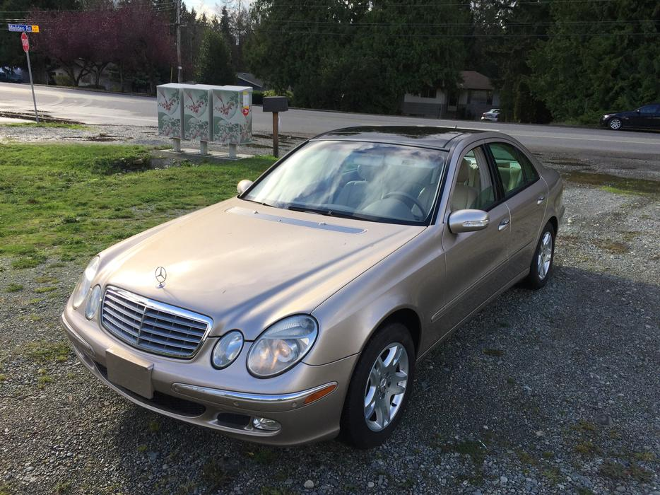 2003 mercedes benz e320 central nanaimo nanaimo for Mercedes benz bay ridge