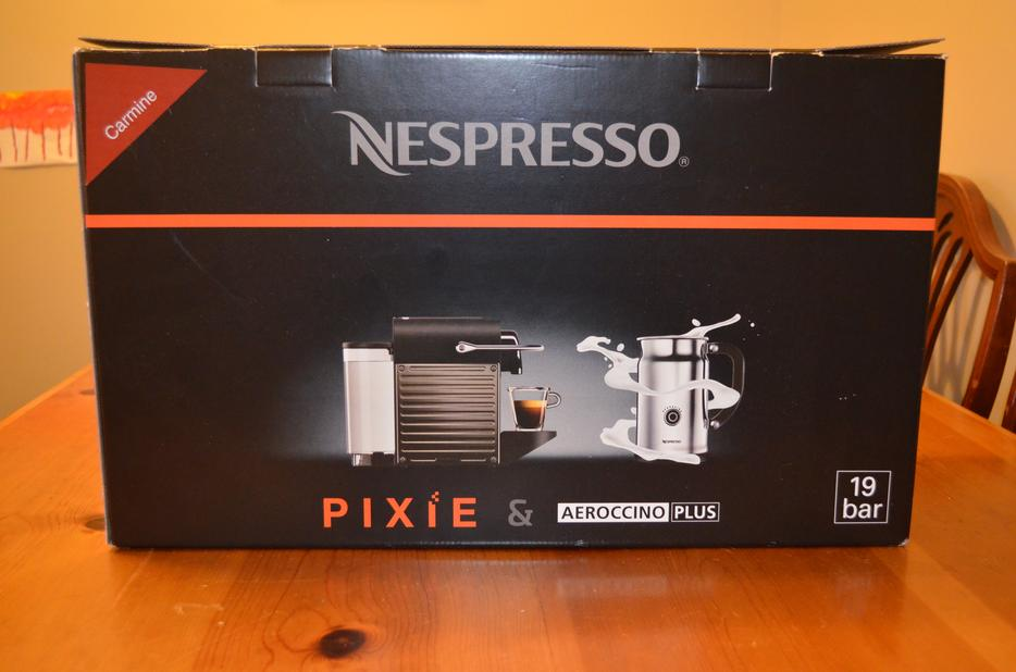 Nespresso Pixie Cappuccino Machine, Almost New Victoria City, Victoria -> Nespresso Ottawa