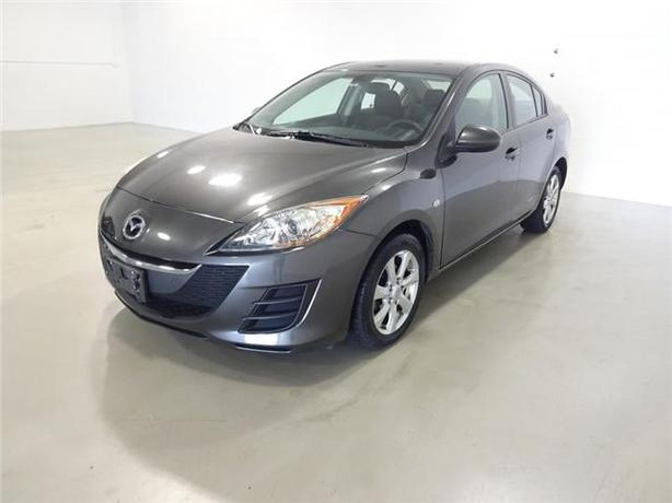 2010 MAZDA 3 GX SEDAN 116,024KM BLUETOOTH/ALLOYS/LOCAL CAR!