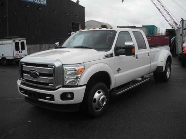 2015 Ford F-350 SD Lariat Crew Cab Long Bed Dually Diesel Platinum 4WD