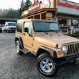 2000 Jeep TJ, 4 Cyl, Auto, Low Kms