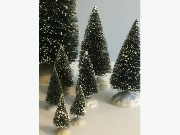 Lemax Trees for Christmas Village