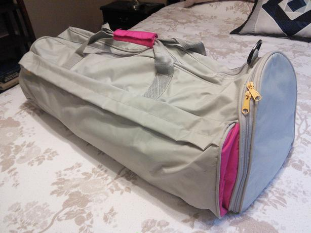 Nylon duffle/travel bag