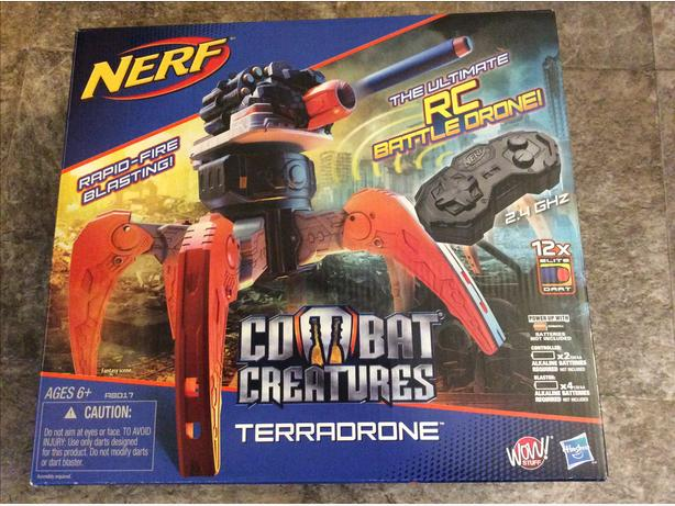New Remote Controlled Nerf Combat Creatures Terradrone