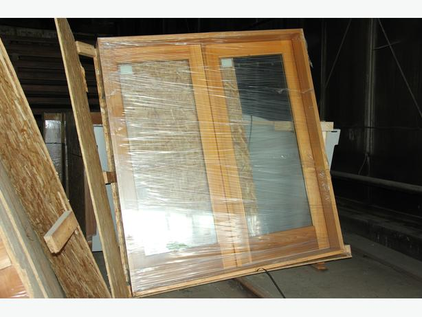 Clear Cedar Thermal-pane Windows and Doors