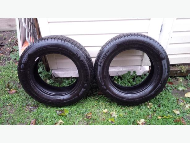 2 Michelin X-Ice winter tires X13