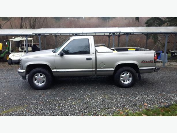 1998 Gmc Sierra Sle Regular Cab Short Box West Shore