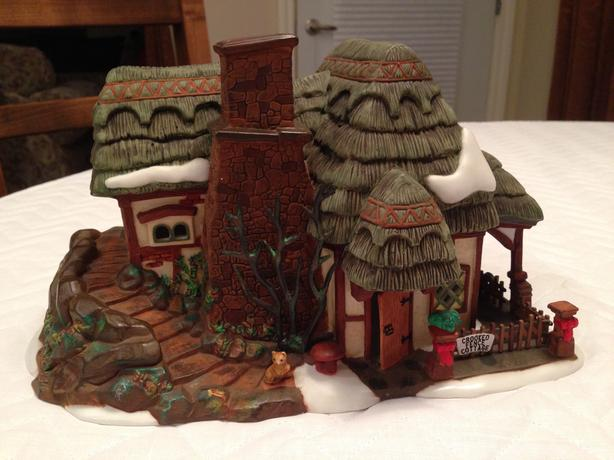 "Dept 56 ""Crooked Fence Cottage"""