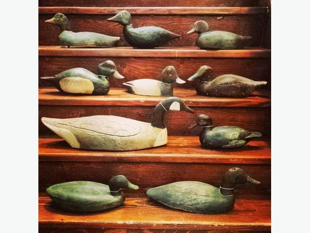 Antique Eastern Canada duck decoys