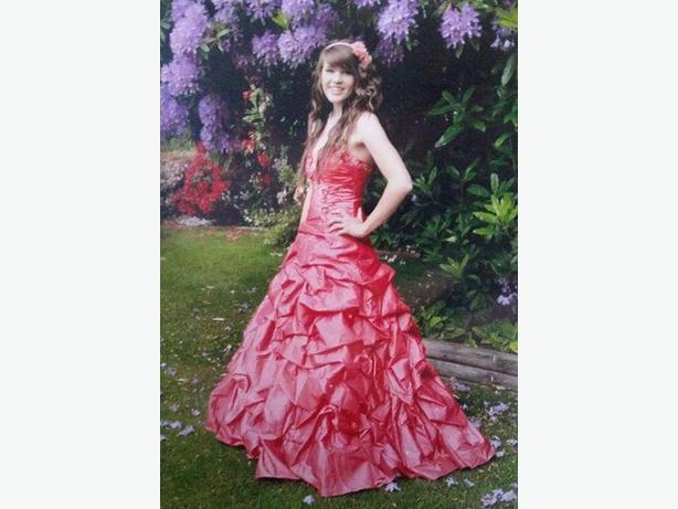 Raspberry (Pink) Mori Lee Prom Dress