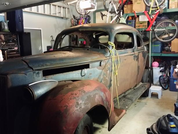 1940 packard ...perfect for rat rod