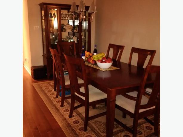 dining room set with hutch coffee table and end table montreal