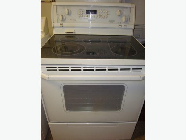 Flat Top Stove ~ Whirlpool flat top stove self clean and convection oven