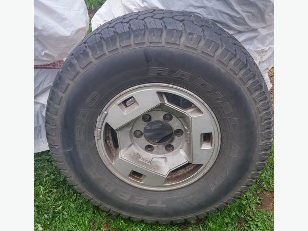 "15"" Mud +Snow tires"