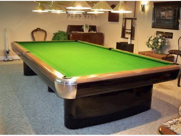 6x12 snooker billiards table mint condition north saanich for 12 ft snooker table